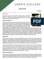 Newsletter 4 Trinity Term 2011