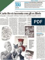 Carlo Bo si racconta con gli Ex libris - Il Resto del Carlino dell'11 agosto 2011