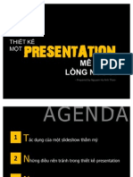 Thiết kế một presentation mê hoặc lòng người
