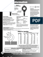 Eye Bolt Rating and Specifications