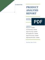 Buyer Behaviors_Product Analysis_Yamaha Cuxi