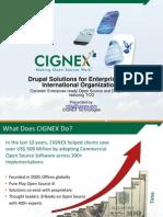 Drupal for Enterprises and Internation Organizations