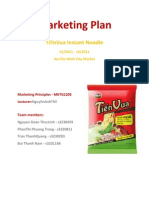 Tien Vua's Marketing Plan Final Version
