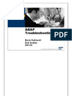 ABAP Troubleshooting