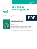 A Guide to the Work in Compressed Air Regulations 1996_DECOMPRESSION TABLES