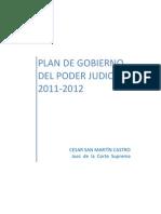 Plan de Gobierno Del Poder Judicial 2011-2012