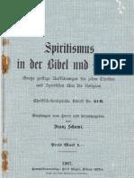 Franz Schumi - Spiritismus in der Bibel und Kirche  Nr. 21B