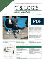 """""""Logenplaetze fest vergeben"""" in der Cost & Logis 10/2011"""