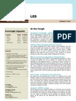 루멘스 20110131 _jung_LED Upgrade Report\