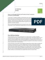 Cisco COBO Cisco Series Datasheet