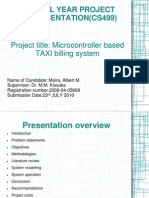 Project Presentation (CS499)-Albert Maira