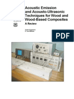 Acoustic Emission and Acousto-Ultrasonic Techniques for Wood and Wood-Based Composites