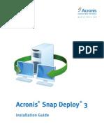 Snap Deploy 3.0 Server Installation Guide