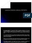 Understanding Annual Reports 1