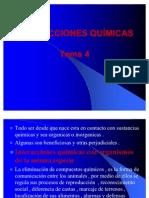 1.4 INTERACCIONES QUÍMICAS Tema 4