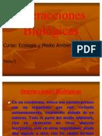 1.5. Interacciones biológicas.