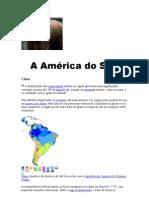 A América do Sul