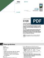 C120 Manual English