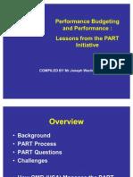 Performance Budgeting Usa