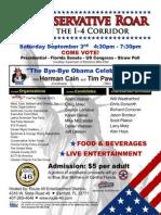 A Conservative Roar from the I-4 Corridor event invite