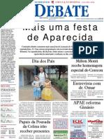 Jornal O Debate, edção 341 - 12 de agosto de 2011