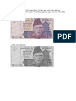 preprocessing techniques applied on currency note