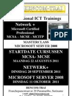 MCSE_MCSA-2003 upgrade MCITP 2008 v3 aug11