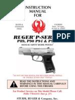 Pistolet 9mm ruger