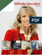Adult Brochure Fall 2011