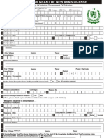 32758100 Ministry of Interior Arms License Application Form Fillable