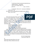 Assessment of Additional Teachers Posts to h.s. Progs Rc No.5730 Dt 09-08-2011