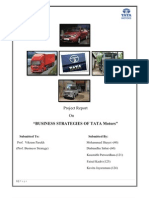Tata Motors Final Report