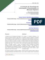 A Evolução da Tecnologia de Informação e Comunicação e o Mercado Papeleiro