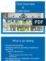 Jar Test Overview Calibration
