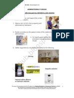 IV Push Through Heparin Lock Device