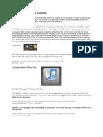 MAC OS X Top 50 Terminal Commands