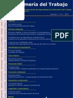Enfermería del Trabajo, volumen 1, número 1, 2011