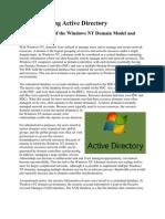 Understanding Active Directory