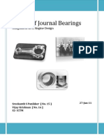 Design of Journal Bearings