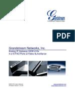 GXW410x User Manual