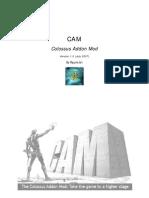 CAM 1.0 Manual