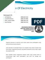 Generation of Electricity Presentation