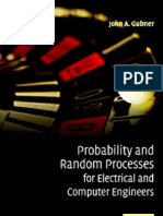 EE-0030 - Probability and Random Processes for Electrical and Computer Engineers