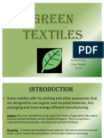 Green Textiles