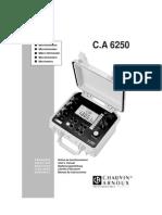 Manual 6250