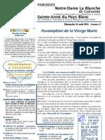 Bulletin SAPB&NDLB 110814