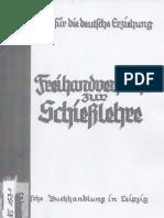 Freihandversuche zur Schießlehre - P. Männchen - Bausteine für die Deutsche Erziehung Heft 13