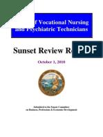 Sunset Board Voc Nursing