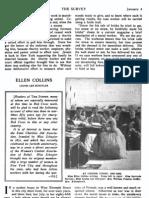 Survey Collins 1913
