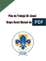 Plan de Trabajo Bi-Anual Grupo Scout LMS